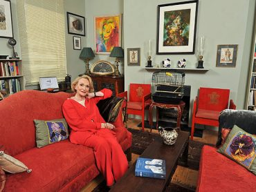 Actress Sian Phillips becomes a Dame