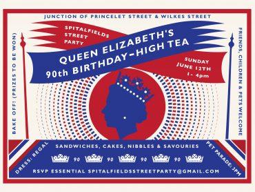 Spitalfields Street Party 2016